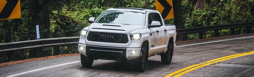 2020 Toyota Tundra Driving