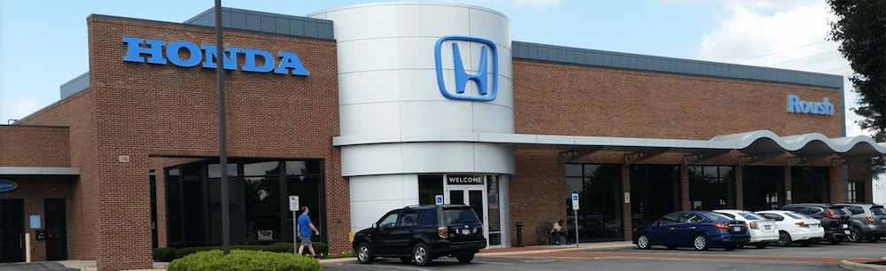 Roush Honda dealership exterior