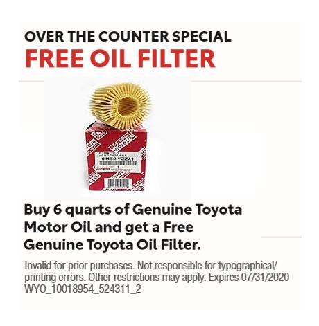Free Oil Filter