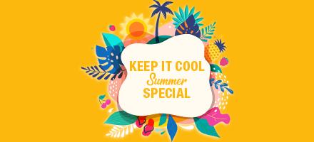Keep It Cool Summer Specials