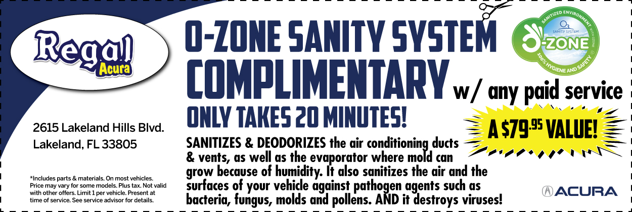 O-Zone Sanity System Special