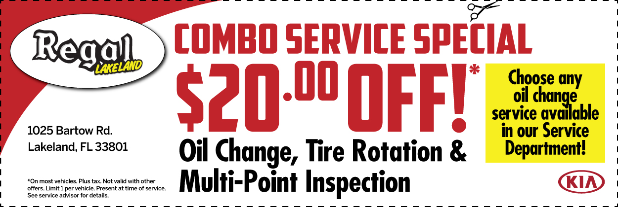 Oil Change, Rotation & Multi-Point Inspection