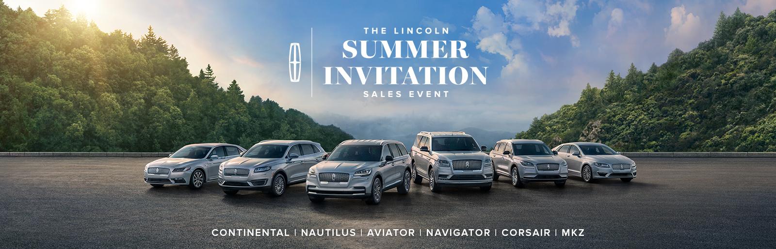 Lincoln Summer Invitation