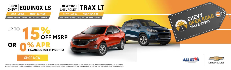 2020 Chevy Trax & Equinox