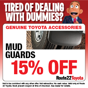15% OFF MUD GUARDS