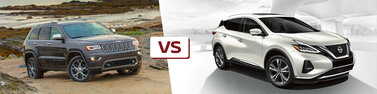 Differences Between The Nissan Murano Vs. Jeep Grand Cherokee