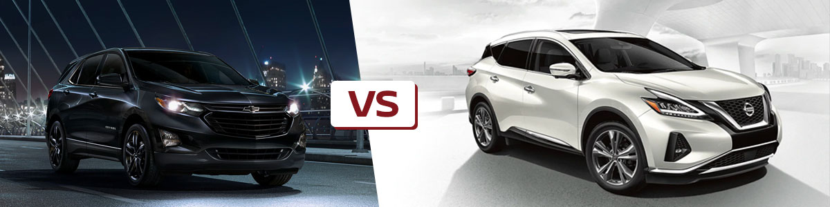 Comparing The Nissan Murano Against The Equinox