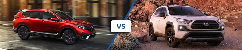2020 Honda CR-V vs Toyota Rav4
