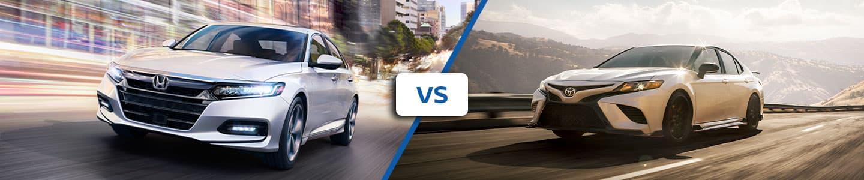 2020 Honda Civic vs Toyota Camry