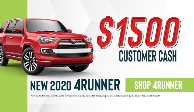 New 2020 4Runner