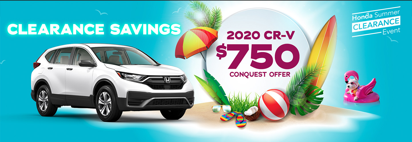 2020 Honda CR-V Conquest Offer at Burlington Honda