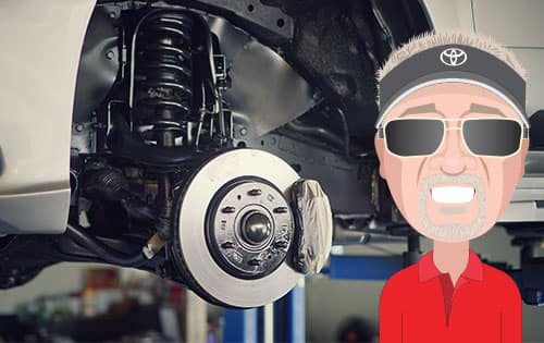 Front or Rear Brake Job