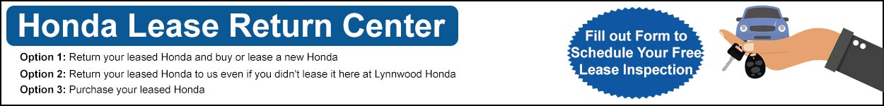 Honda Lease Return Center