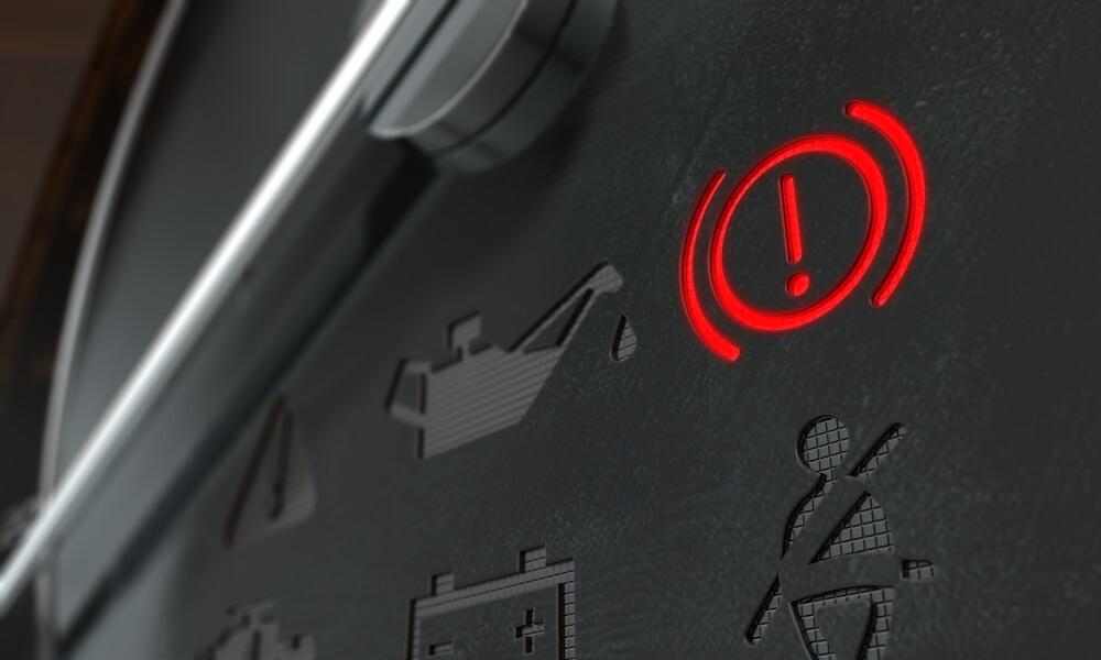Brake Warning Dashboard Light