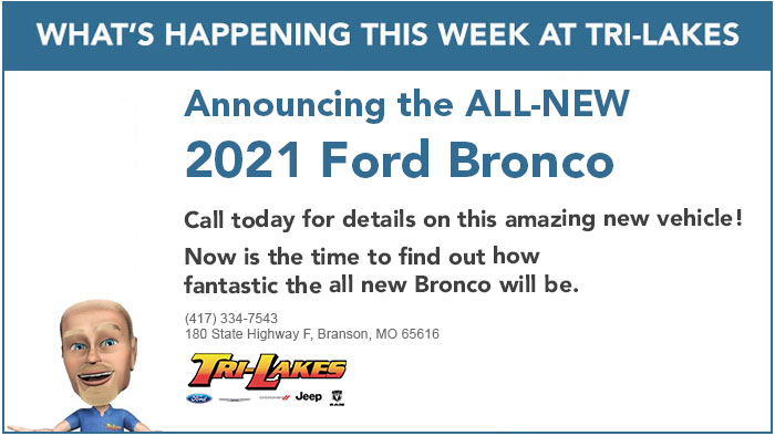 What's Happening 2021 Ford Bronco