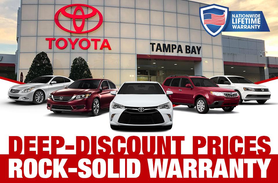 deep discount prices rock solid warranty