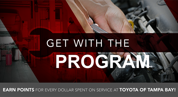 get with the program earn points for every dollar spent on service