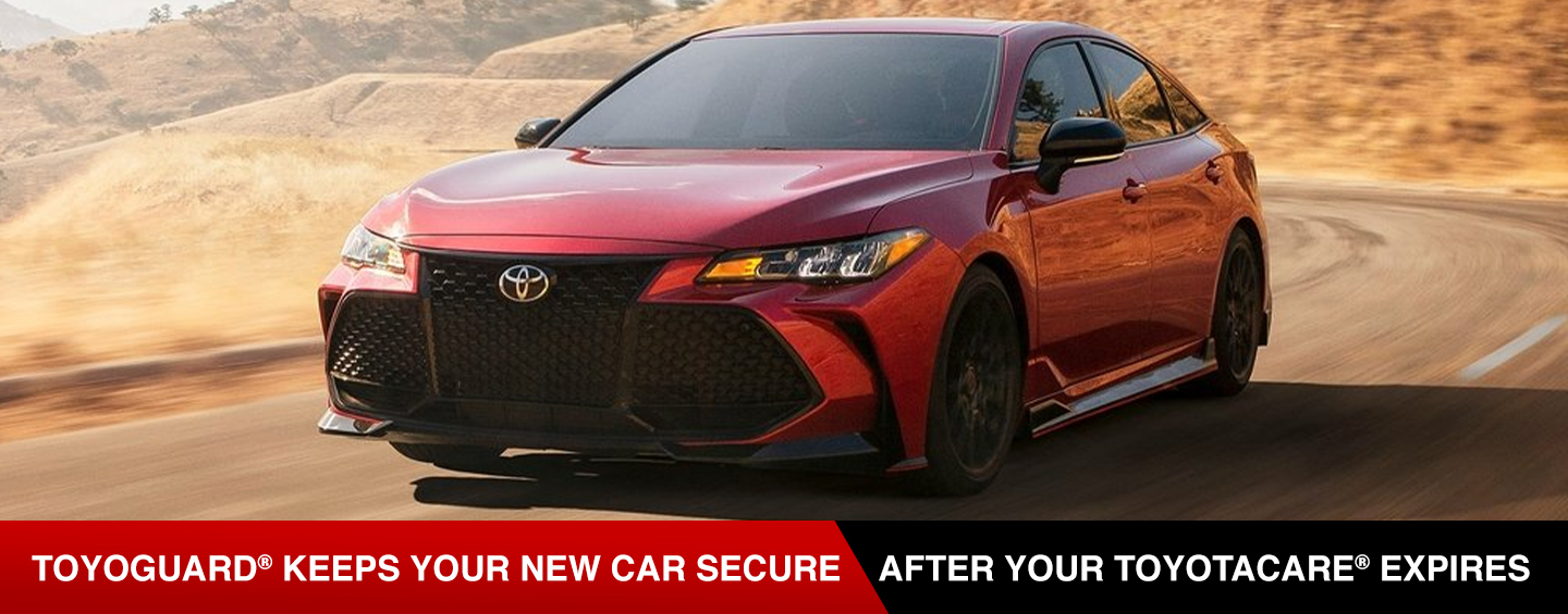 toyoguard keeps your new car secure after your toyotacare expires