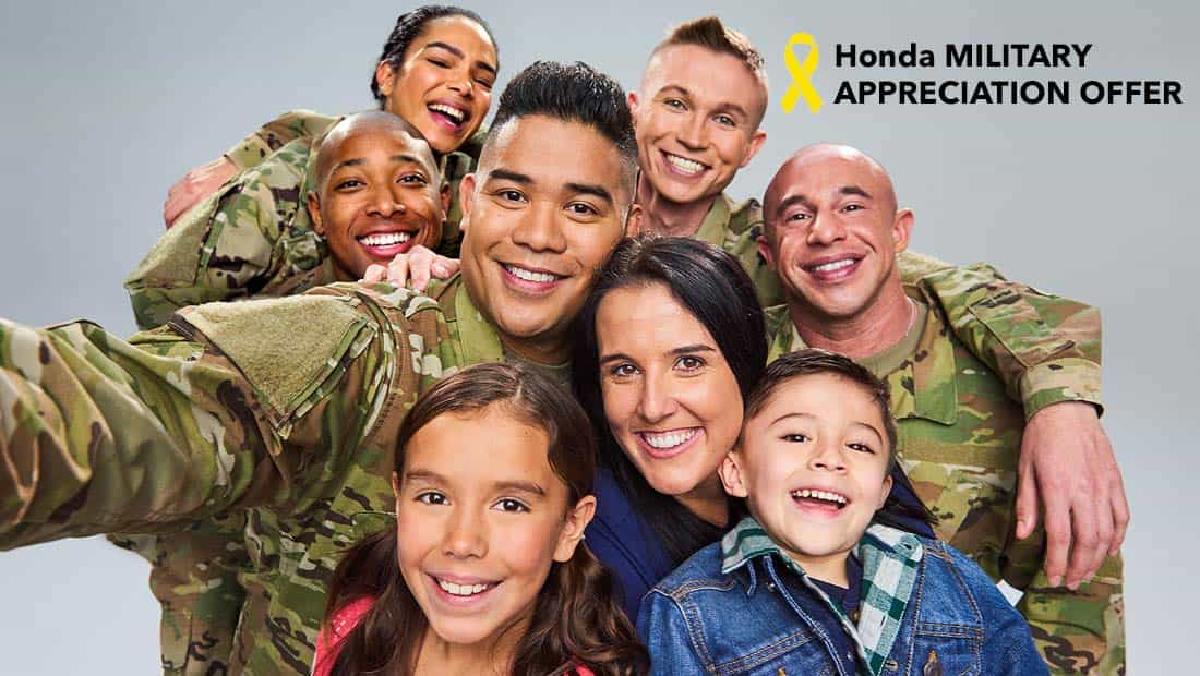 Honda Military Appreciation Offer Details College Station, TX