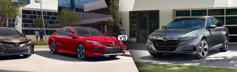 2020 Toyota Camry vs. 2020 Honda Accord