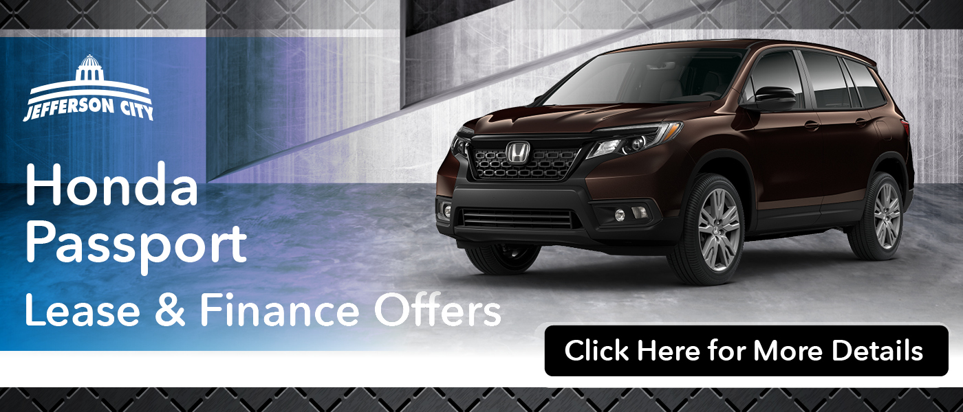 Honda Passport offers