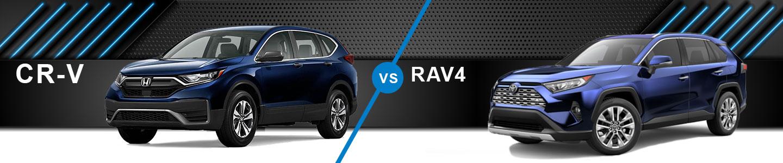 Compare The 2020 Honda CR-V Against The Toyota RAV4 In Fremont, CA