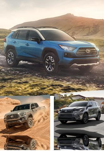 Various Toyota Models