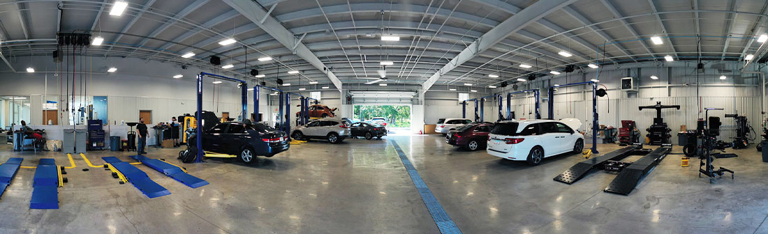 Honda Service Department in Waycross, Georgia