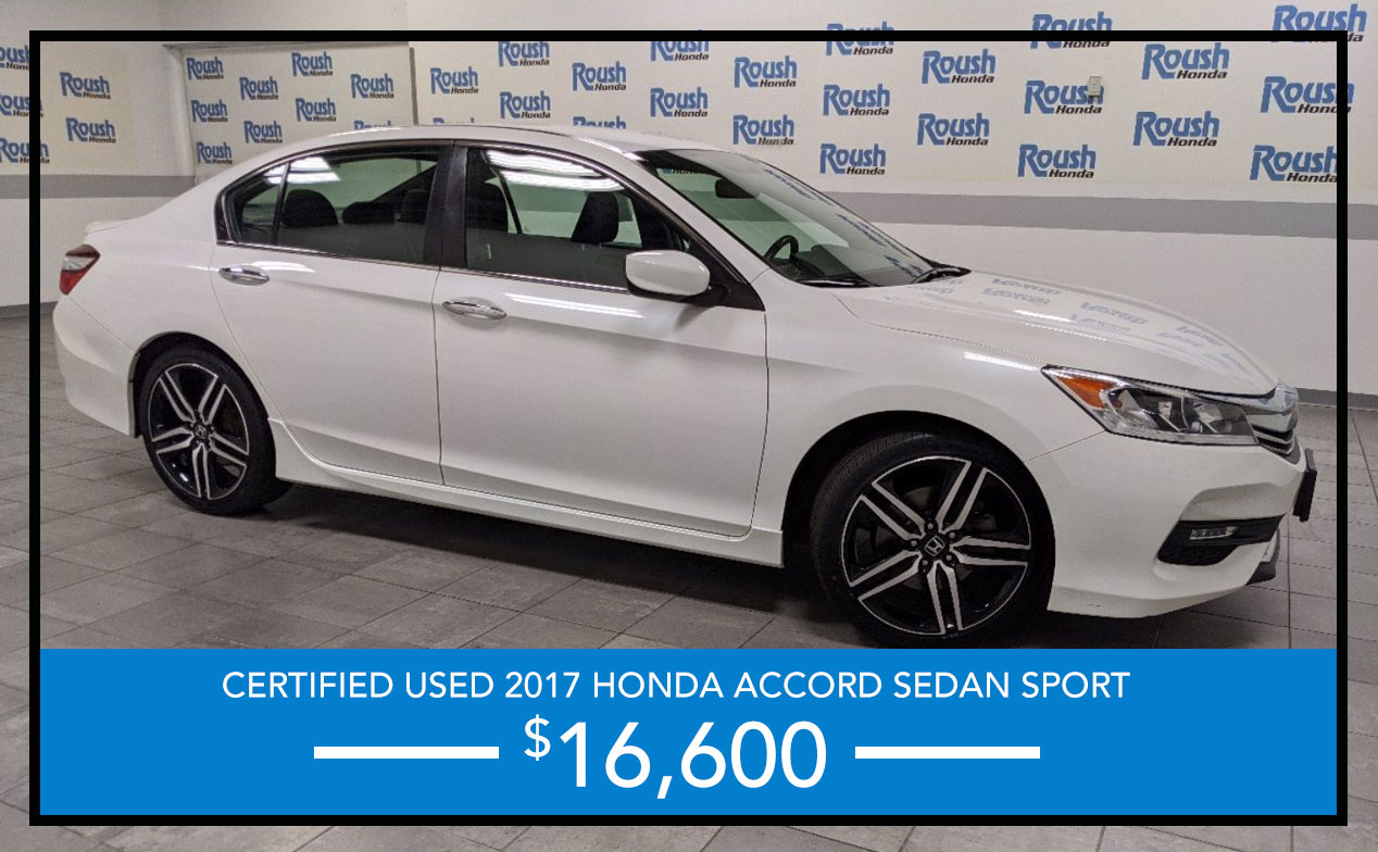 Certified 2017 Accord