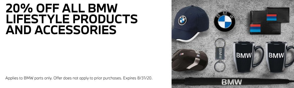 20% Off BMW Products