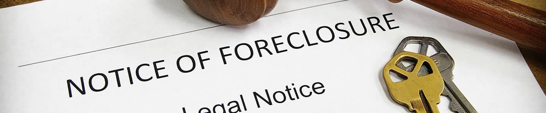 foreclosure financing