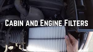 CABIN AIR FILTER OR ENGINE AIR FILTER