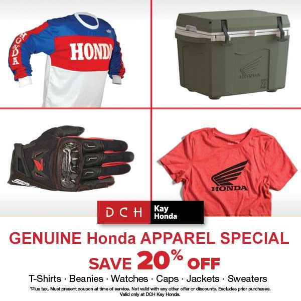 Genuine Honda Apparel Special
