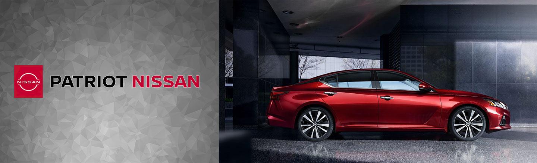 red 2020 Nissan Altima, Patriot Nissan