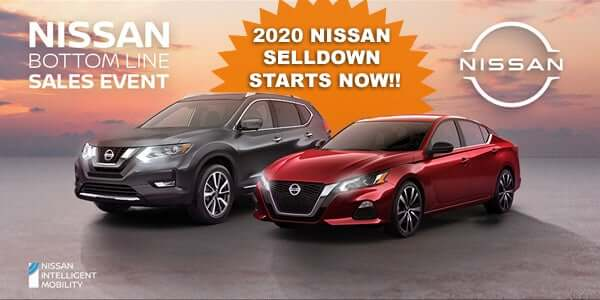 2020 Nissan Selldown