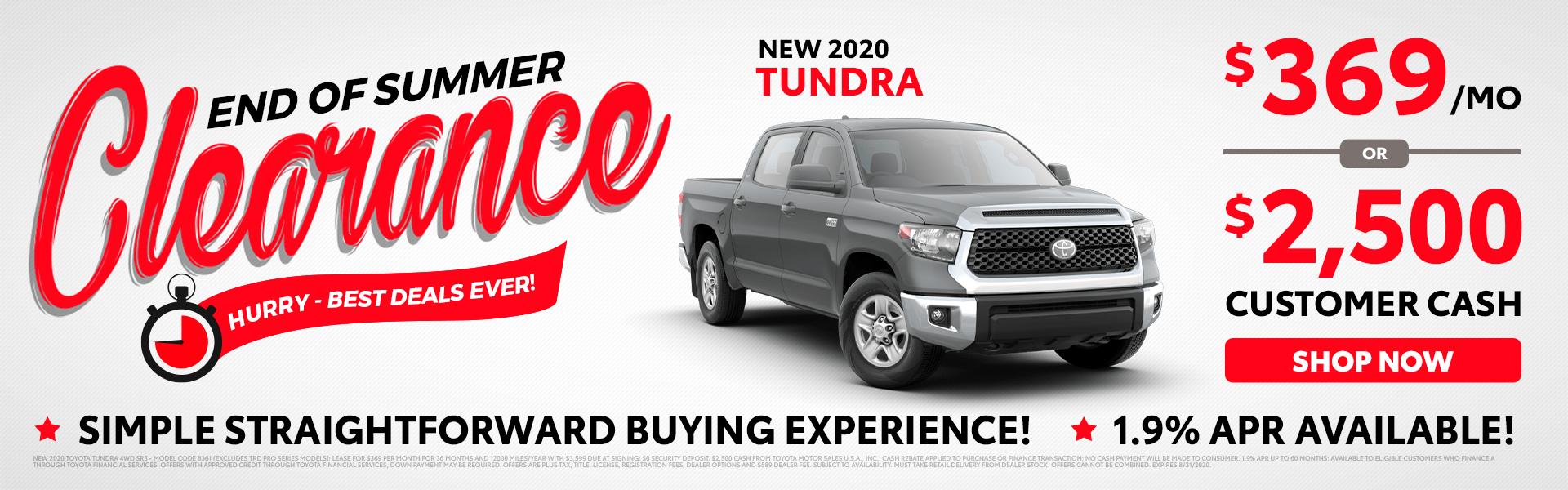 2020 Tundra