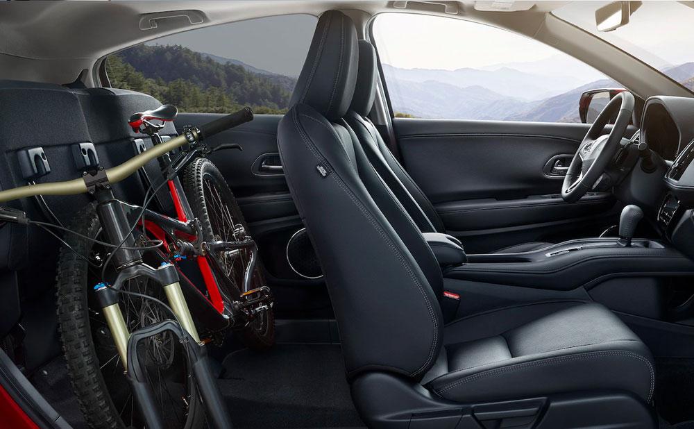 Interior of Honda HR-V