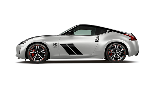 2020 Nissan 370Z 50th Anniversary Silver and Black