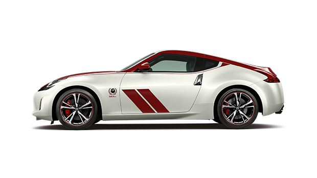 2020 Nissan 370Z 50th Anniversary White and Red