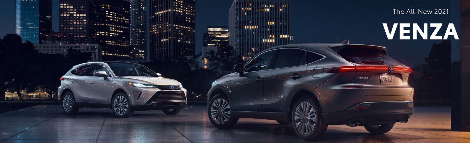 New 2021 Venza On New Orleans Road