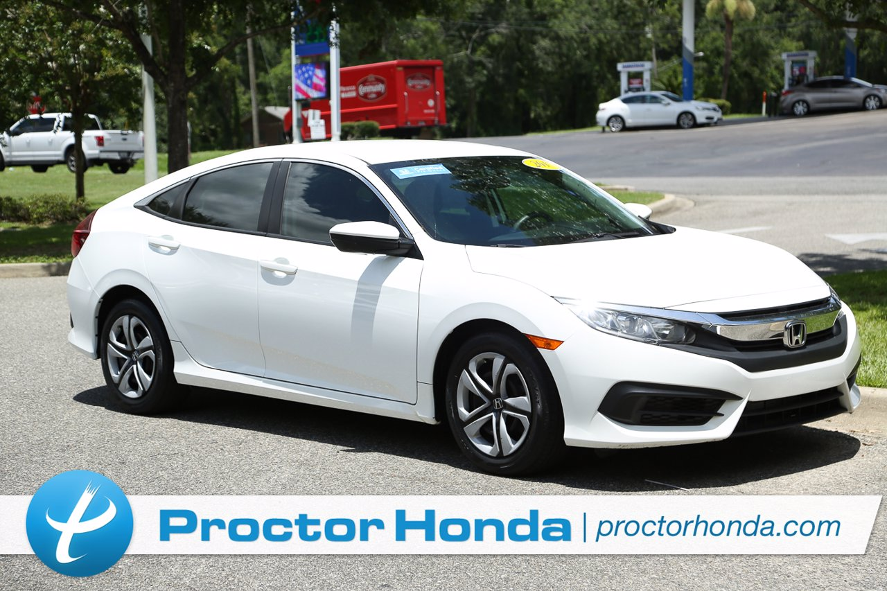 Certified 2017 Honda Civic Sedan LX