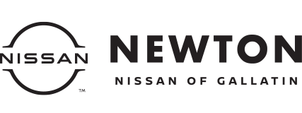 The Newton Nissan of Gallatin logo.