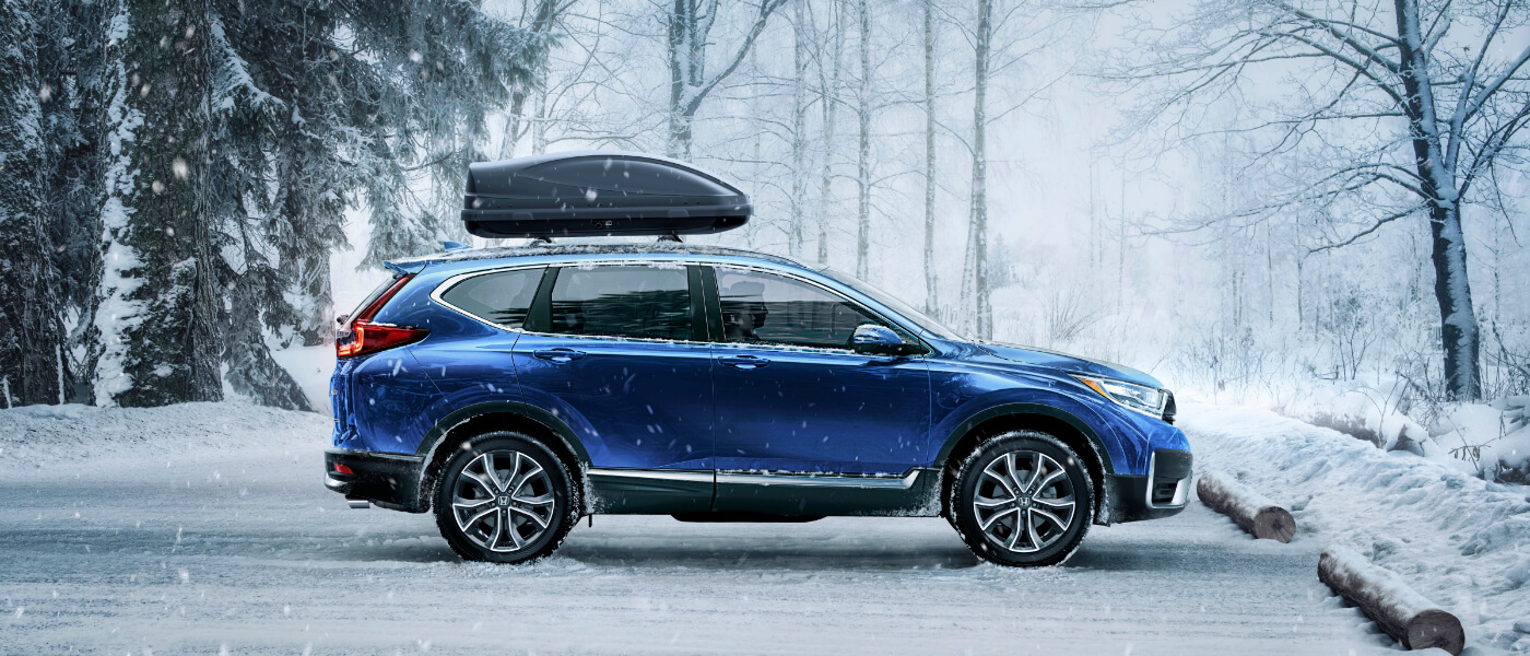 2020 Honda CR-V in snow
