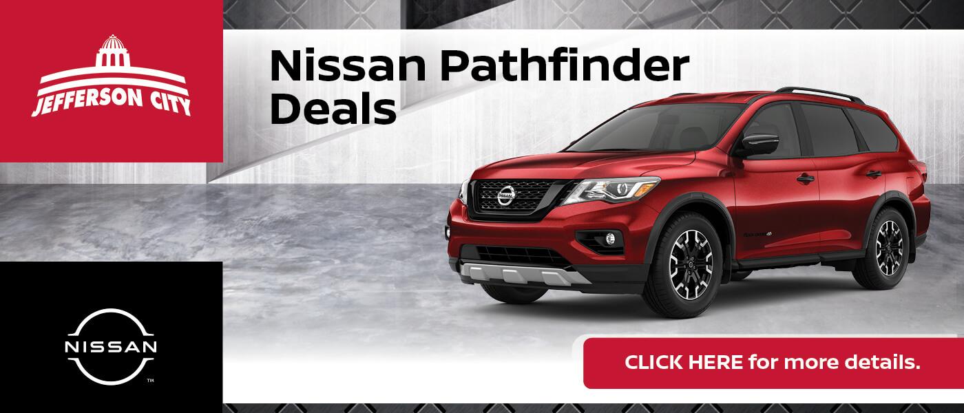 2020 Nissan Pathfinder Specials