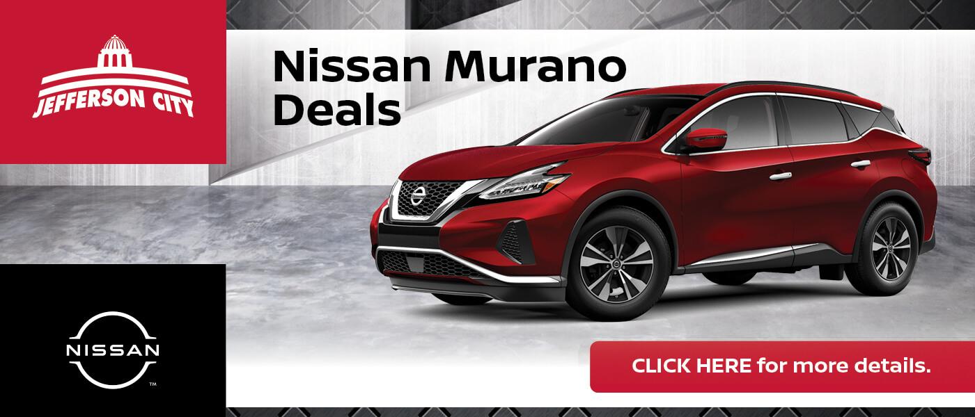 2020 Nissan Murano Specials