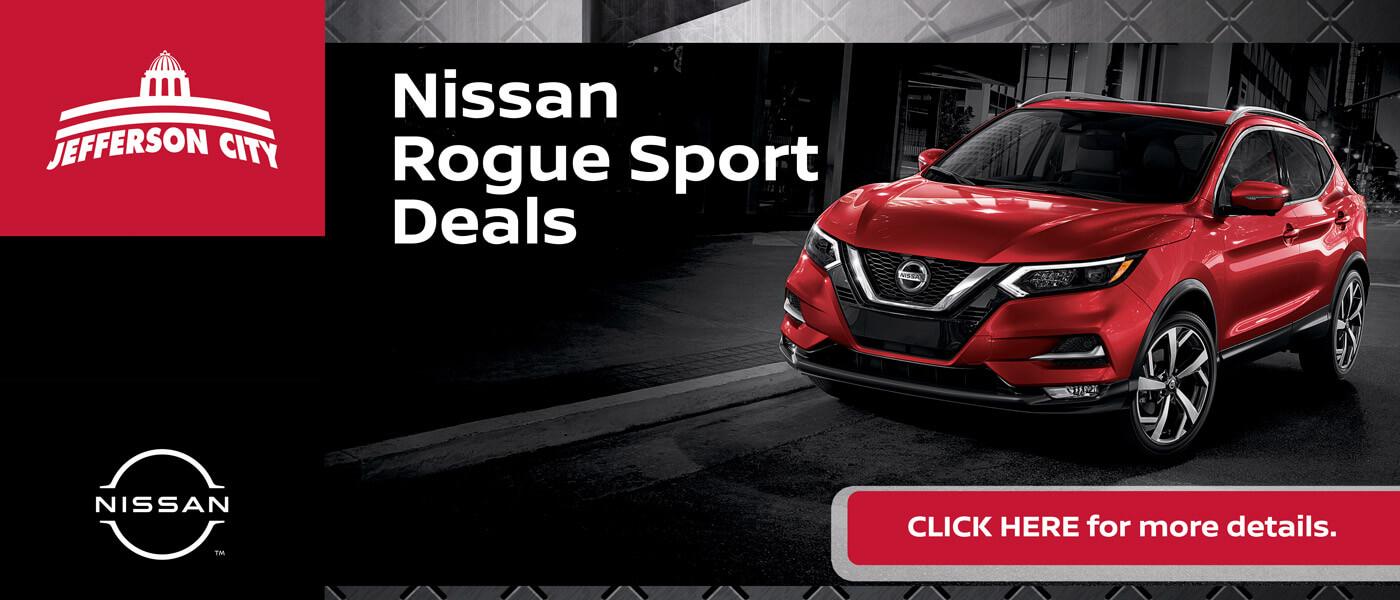 2020 Nissan Rogue Sport Specials