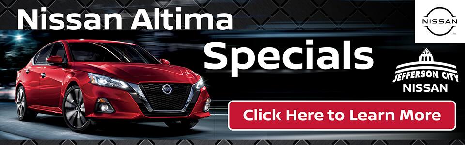 2020 Nissan Altima Specials Deals