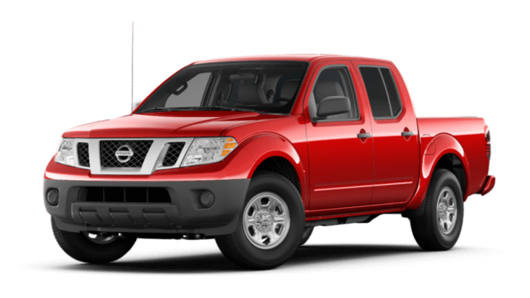 2020 Nissan Frontier S - Cayenne Red