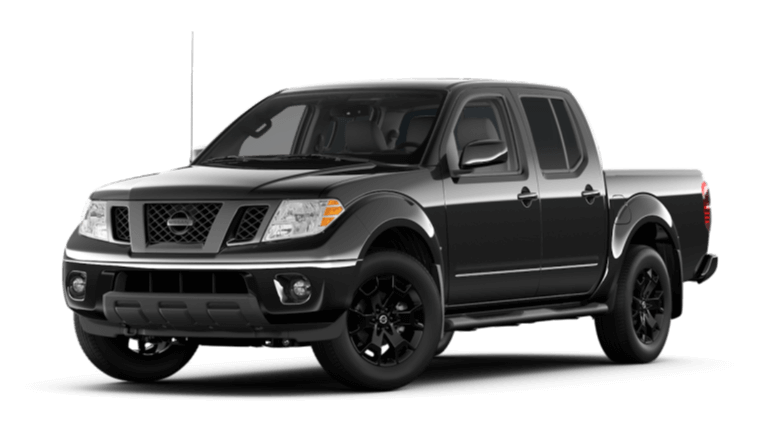 2020 Nissan Frontier Midnight Edition - Magnetic Black