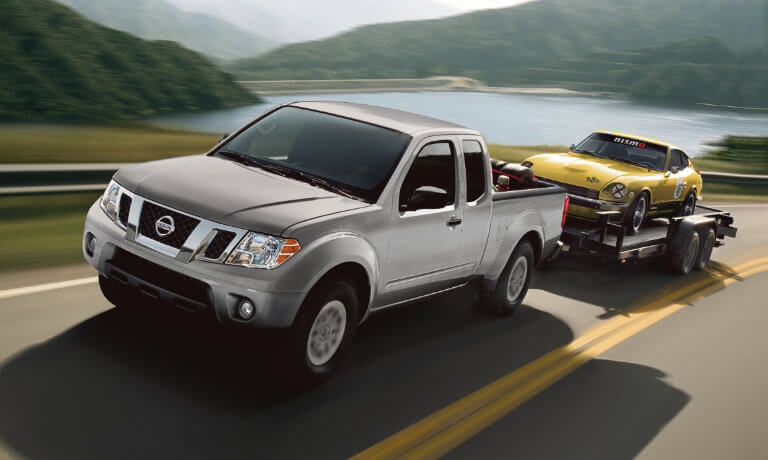 2020 Nissan Frontier exterior towing car